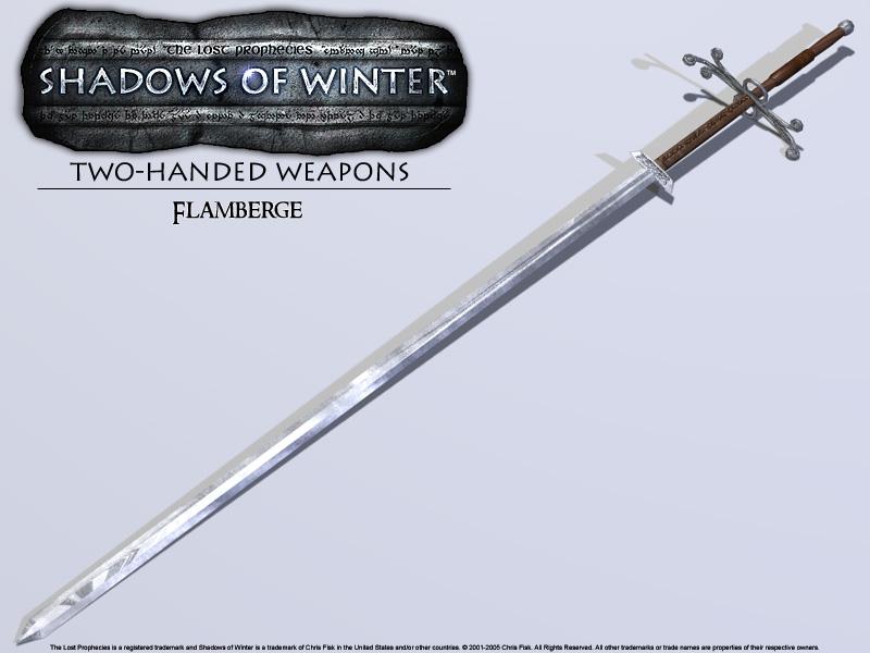 Zweihander Sword Great Sword Zweihander
